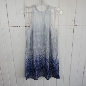 Forever21 silver and blue dress
